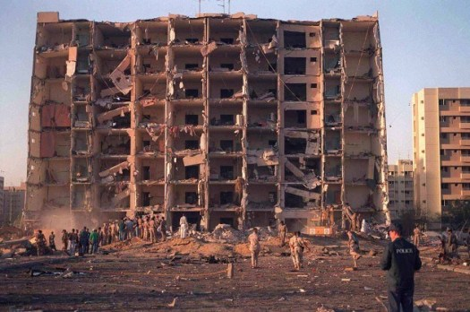 Building#131 after the bombing.