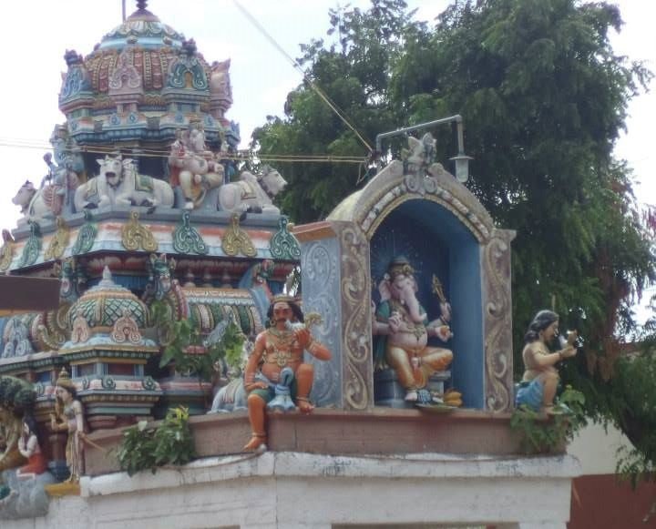 Vinayagar Temple in my native